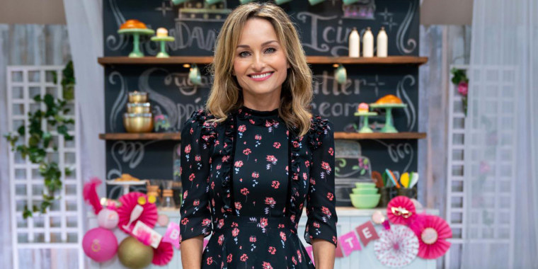 Host Giada De Laurentiis, as seen on Winner Cake All, Season 1.