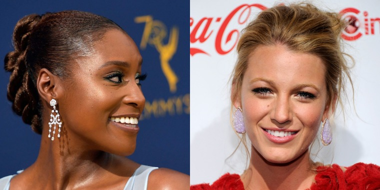 updos for long hair, Blake Lively messy updo, Reese Witherspoon ponytail