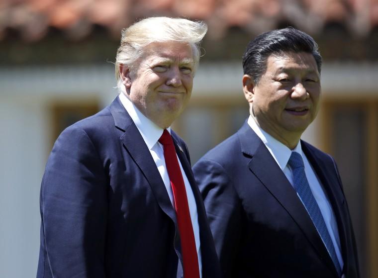 Image: Donald Trump and Xi Jinping