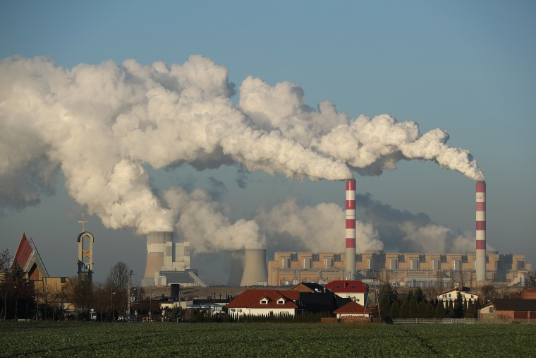 Image: The Belchatow Power Station in Rogowiec, Poland