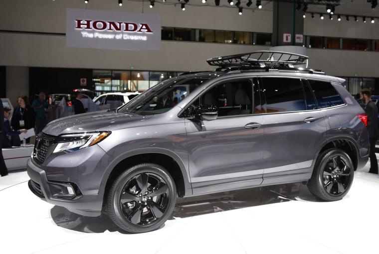 Image: Honda Passport