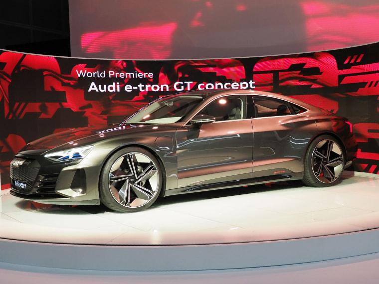 Image: The Audi E-Tron GT