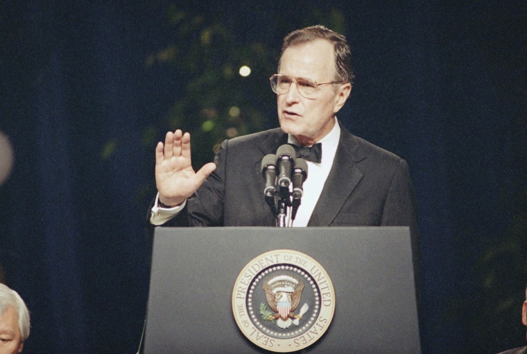 Image: President George H.W. Bush