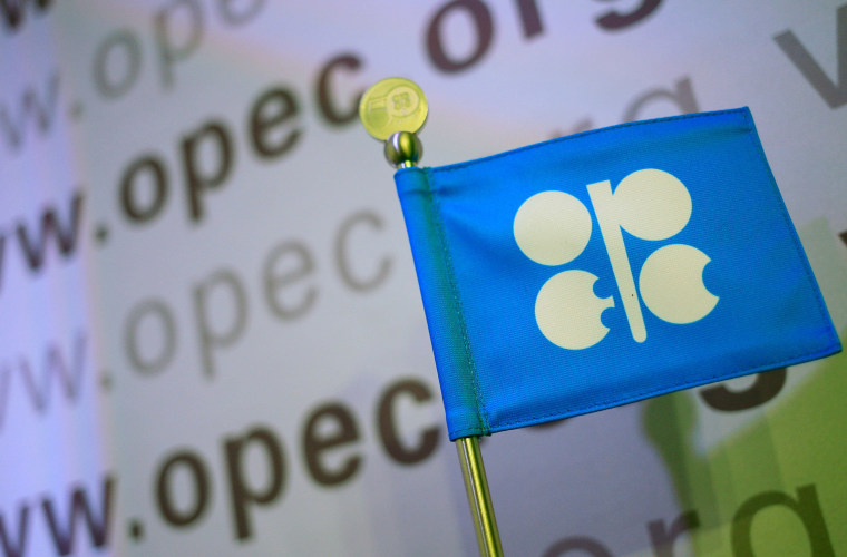 Image: The logo of the OPEC (Organization of the Petroleum Exporting Countries) is seen at the organization's headquarters in Vienna
