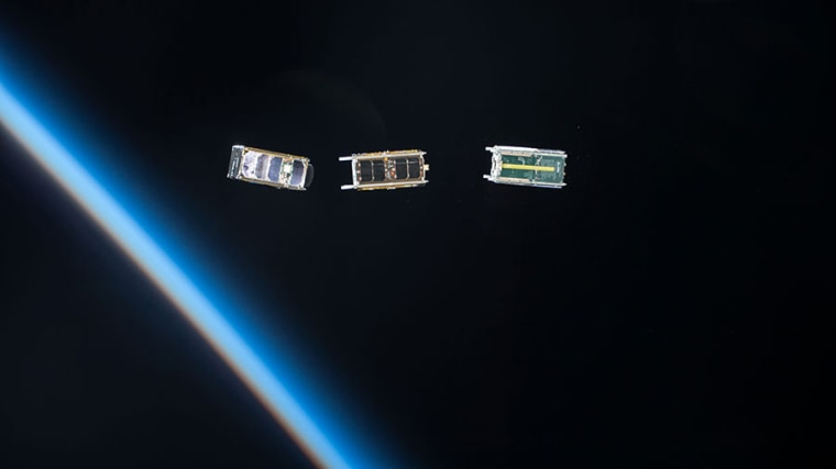 Image: Cubesats are currently the standard small satellite, but some spacecraft designers are pushing their creations ever smaller.