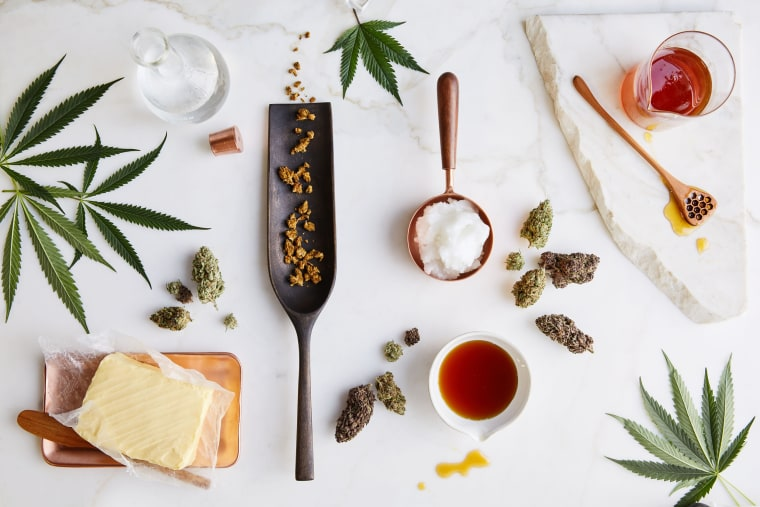 """Edibles: Small Bites for the Modern Cannabis Kitchen,"" a cookbook by Stephanie Hua and Coreen Carroll"