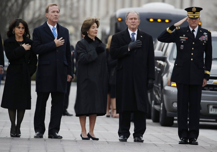 Image: President George H.W. Bush Lies In State At U.S. Capitol