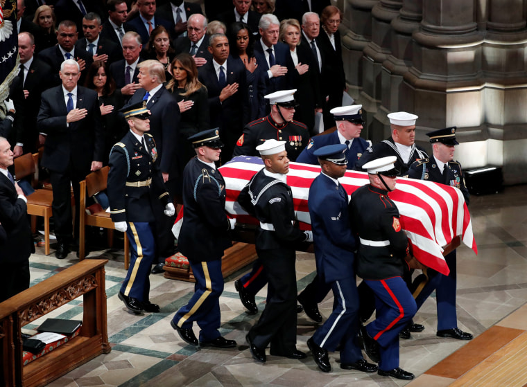 Image: Funeral service for former U.S. President George H.W. Bush in Washington