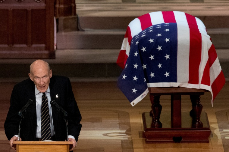 Image: Funeral service for the former U.S. President George H.W. Bush in Washington