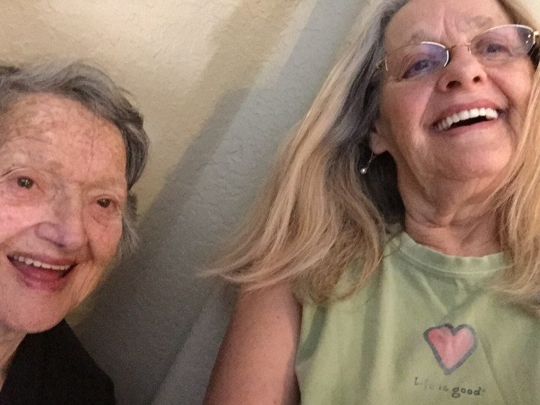 Genevieve Purinton and her daughter, Connie Moultroup, were reunited through an Ancestry DNA test.