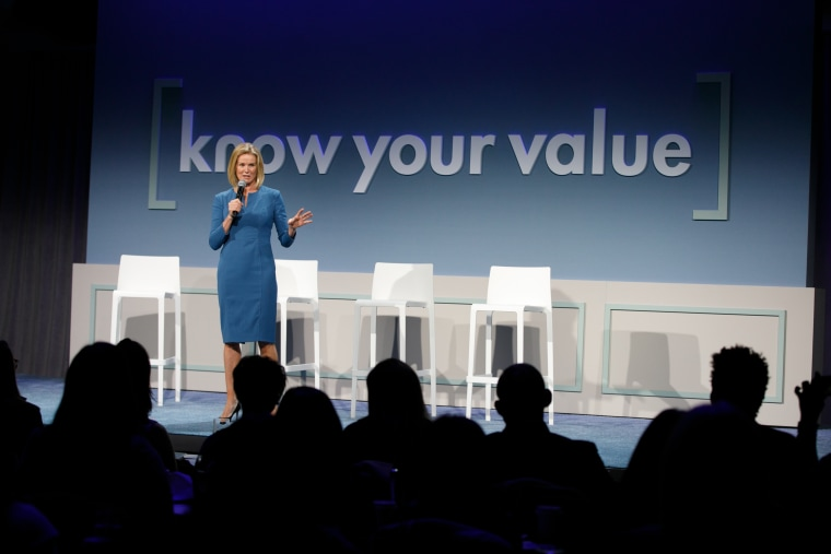 BBC's Katty Kay speaks at the Know Your Value conference in San Francisco on Dec. 1.