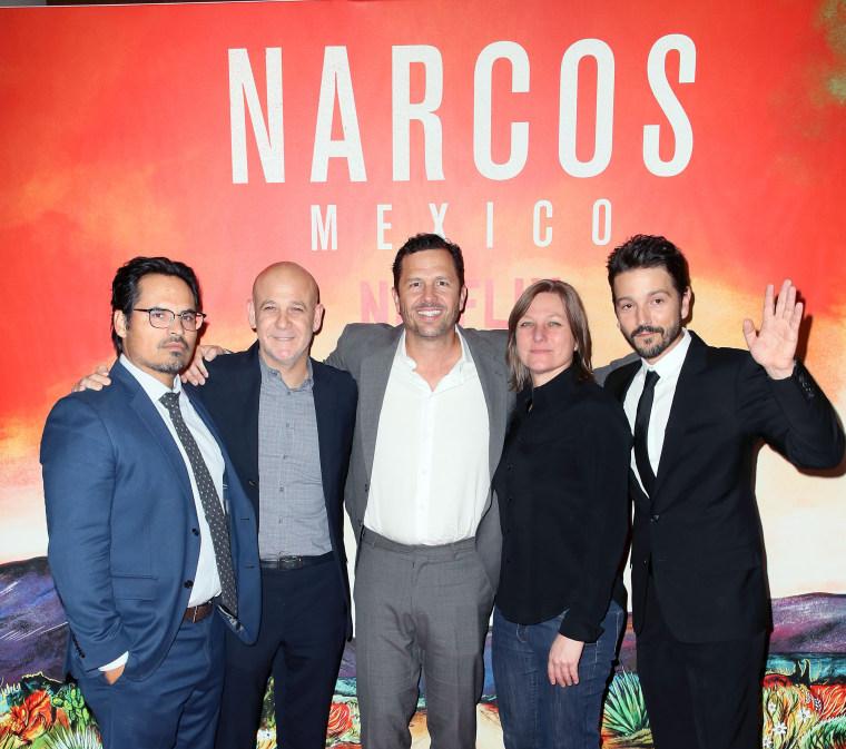 """Image: Netflix's """"Narcos: Mexico"""" Season 1 Premiere - Arrivals"""