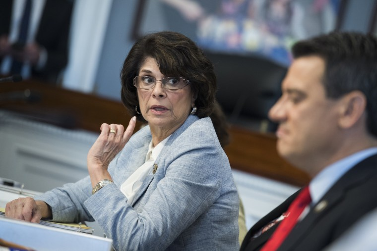 Rep. Lucille Roybal-Allard, a California Democrat, is the incoming chairwoman of the House Appropriations' subcommittee on Homeland Security.