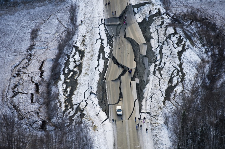 Image: Alaska Earthquake
