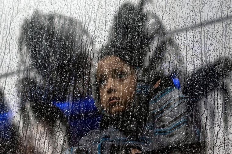 Image: Migrant Caravan, Tijuana, Child