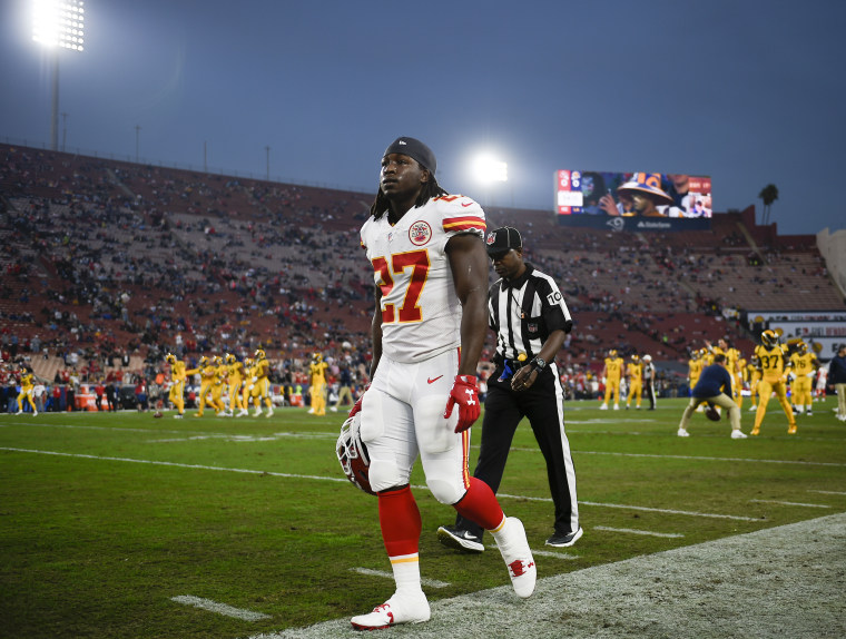 Star running back Kareem Hunt was released by the Kansas City Chiefs earlier in December.