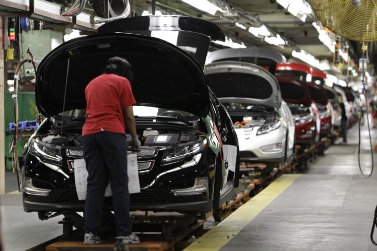 Image: General Motors Hamtramck Assembly plant