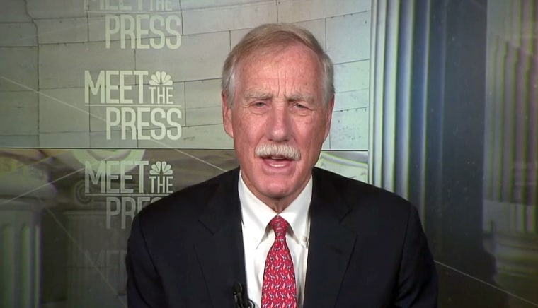 Image: Angus King Meet The Press