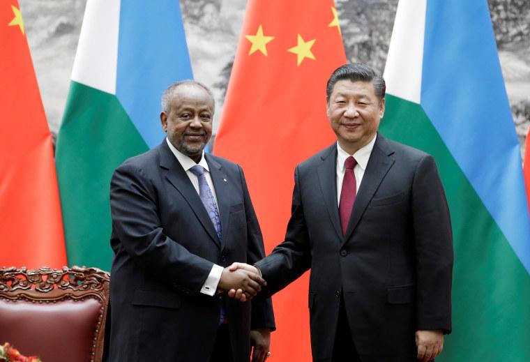 Image: Ismail Omar Guelleh Xi Jinping