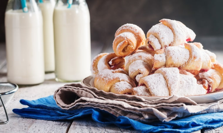 Gesine Bullock-Prado's strawberry pistachio rugelach is perfect for a sweet holiday treat.