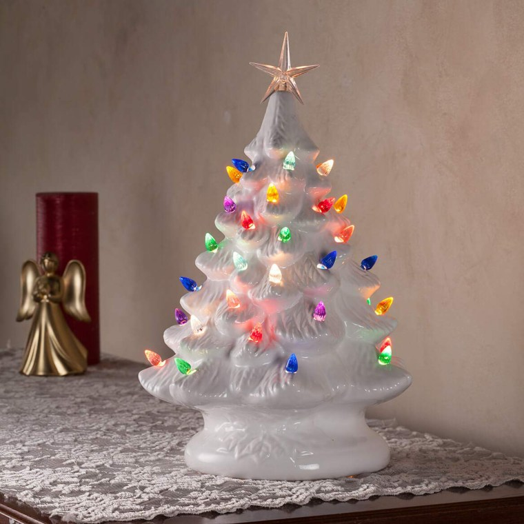 Are vintage ceramic Christmas trees worth a lot of money?