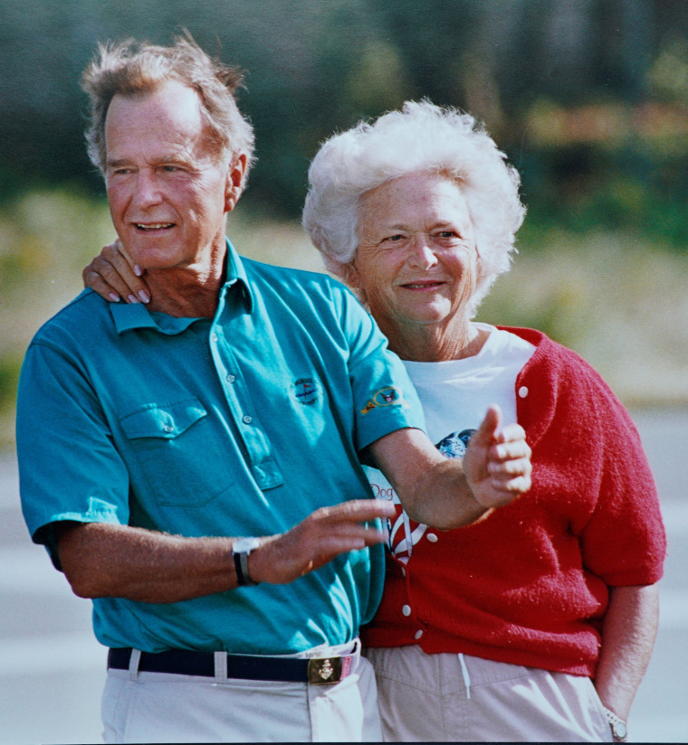 Pres. George and Barbara Bush