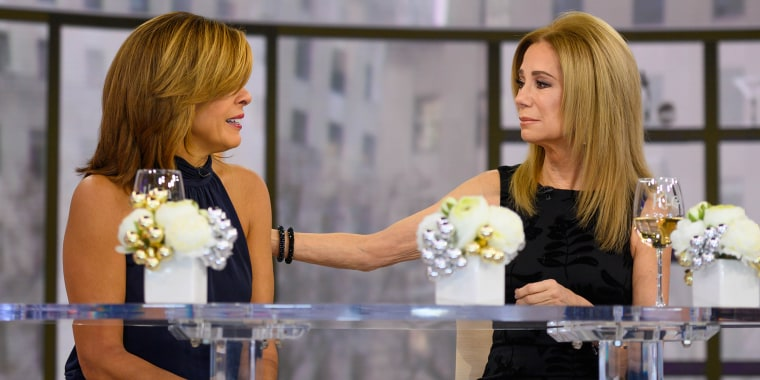 Kathie Lee Gifford, with Hoda Kotb, announces on December 11, 2019 that she has decided it's time to leave TODAY.