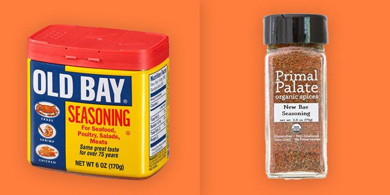 New Bae seasoning versus Old Bay spice