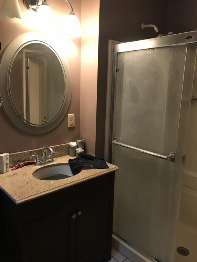 Diy Bathroom Makeover Marble Showers Diy Vanity