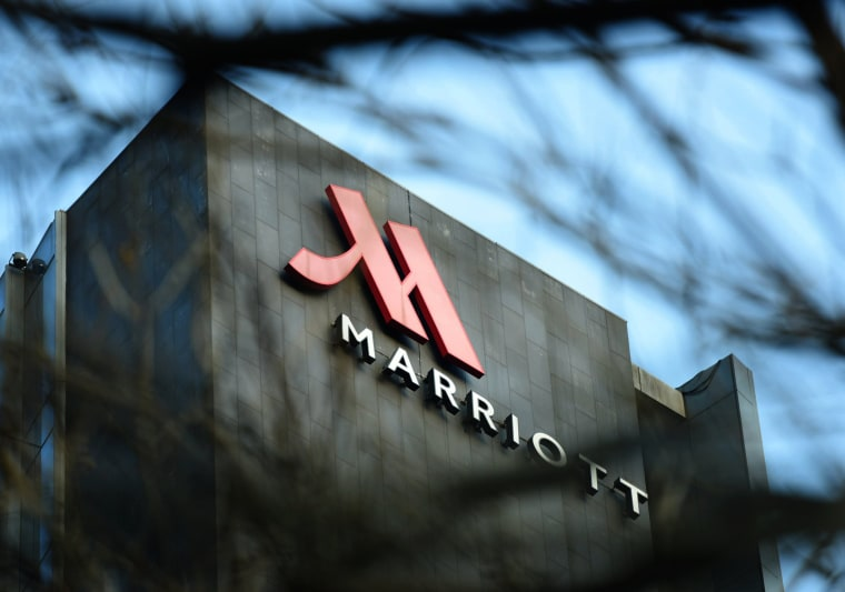 Image: A Marriott hotel in Hangzhou, China, on Jan. 11, 2018.