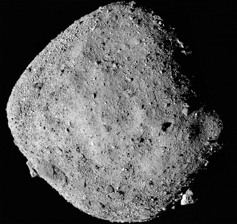 Image: Bennu Asteroid, OSIRIS_REx