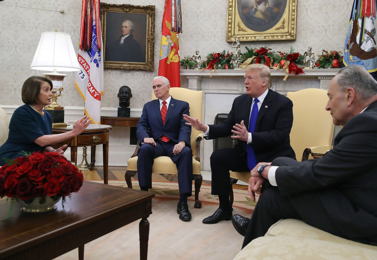 Image: President Trump Meets With Nancy Pelosi And Chuck Schumer At White House