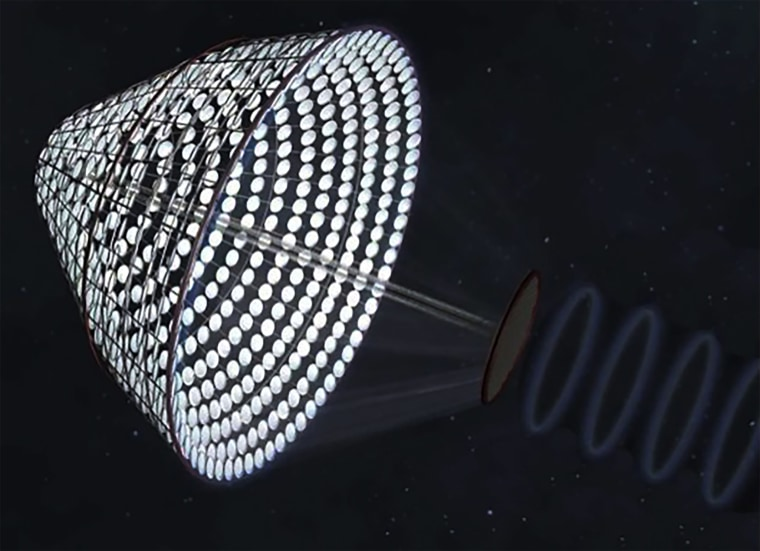 Image: Space-Based Solar Farm Concept