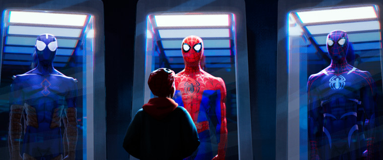 """Image: Miles Morales in \""""Spider-Man: Into the Spider-Verse.\"""""""