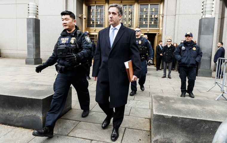 Image: Michael Cohen sentenced to three years in Prison