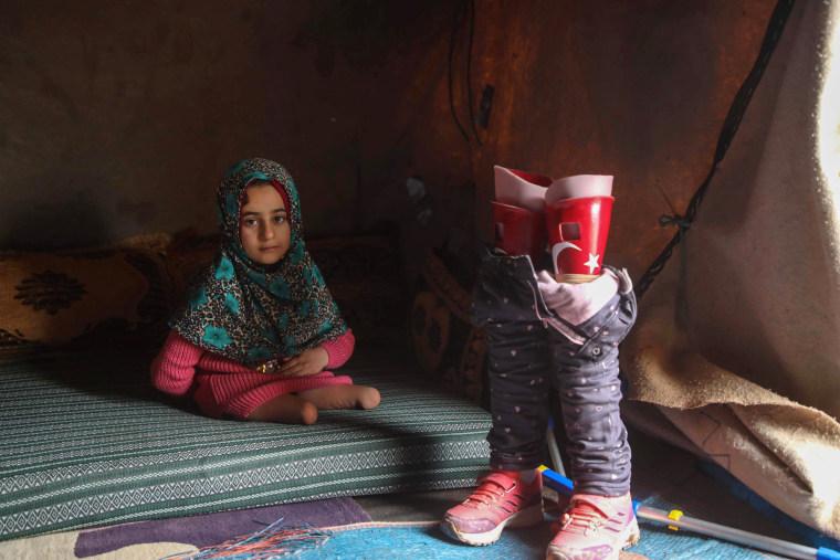 Image: TOPSHOT-SYRIA-TURKEY-CONFLICT-HEALTH