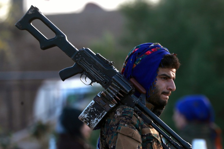 U S -backed fighters in Syria capture last town held by ISIS
