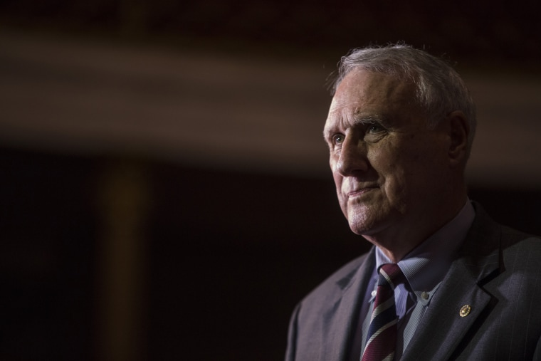 Senator Jon Kyl in Washington on Sept. 5, 2018.