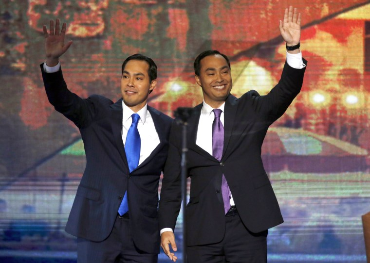Image: Julian and Joaquin Castro