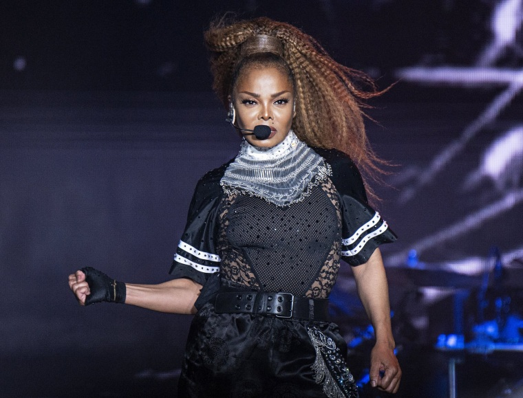 Image: Janet Jackson performs at the Essence Festival in New Orleans on July 8, 2018.