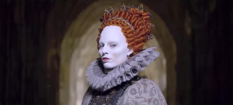 Image: Margot Robbie in Mary Queen of Scots