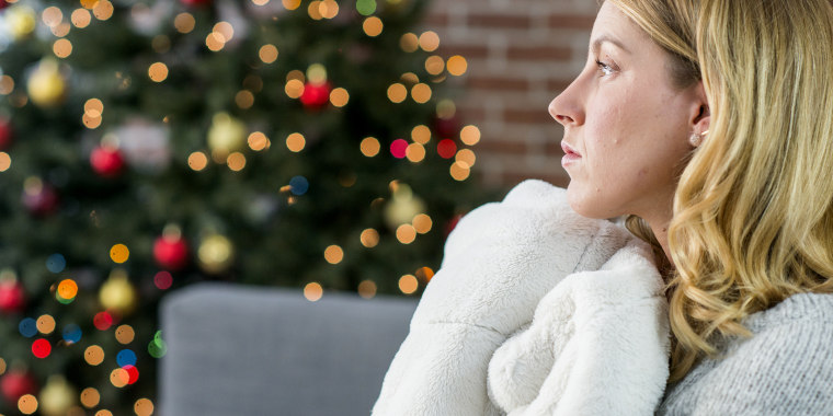 Scrooging is breaking up with someone right before the holidays, just to avoid buying them a gift.