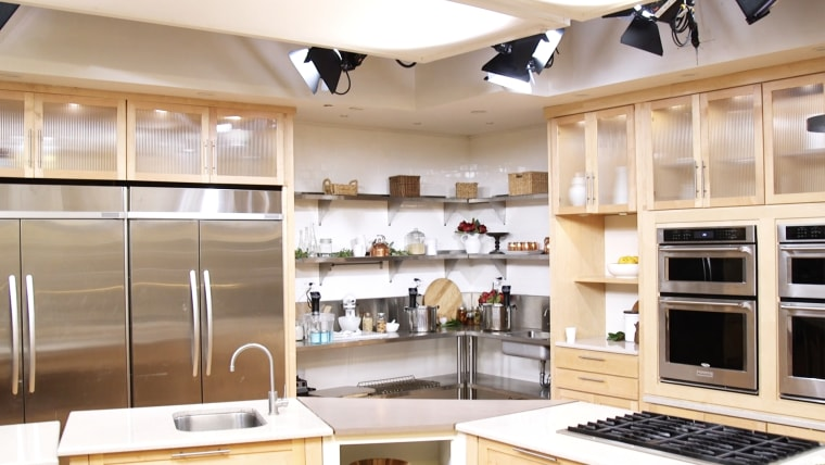 Behind the scenes tour of QVC's 'In the Kitchen with David' host