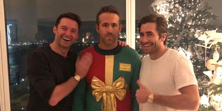 Hugh Jackman, Ryan Reynolds and Jake Gyllenhaal