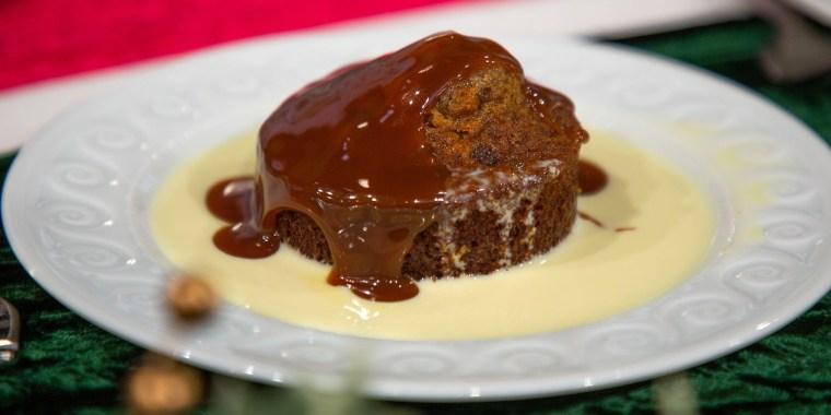 Al's Dijon & Herb Rubbed Rib Roast + Sticky Toffee Pudding + Carson's Brandy Alexander + Siri's Smashed Potatoes