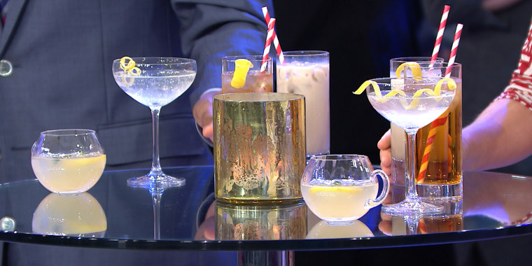 Joaquin Simo's French 75 + Hangover Helper + Mamrie Hart's Party Thyme Punch + Cereal Killer Cocktail