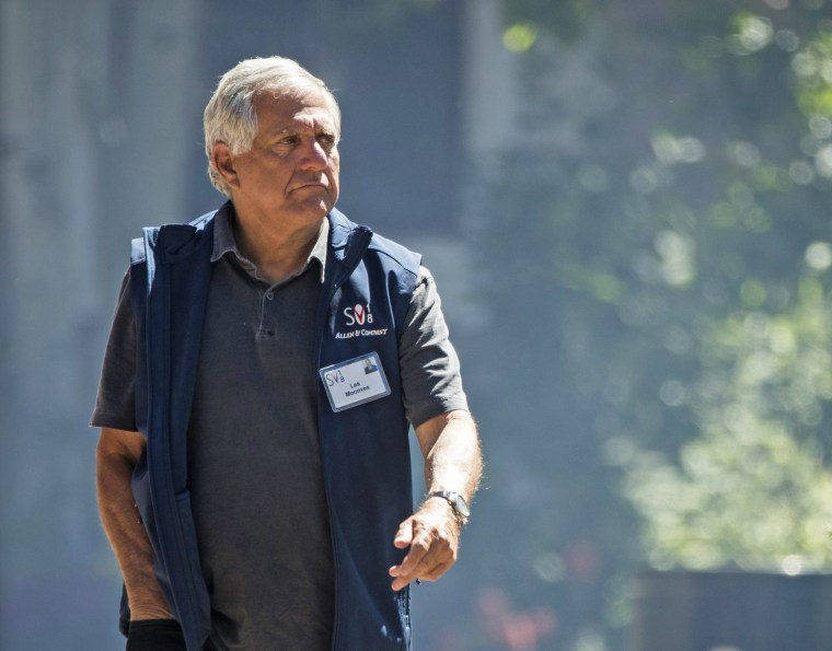 Image: Les Moonves, president and chief executive officer of CBS Corporation