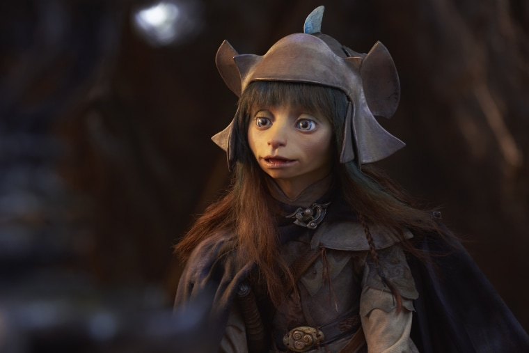 """Image: Rian in \""""The Dark Crystal: Age of Resistance\"""" is voiced by actor Taron Egerton."""
