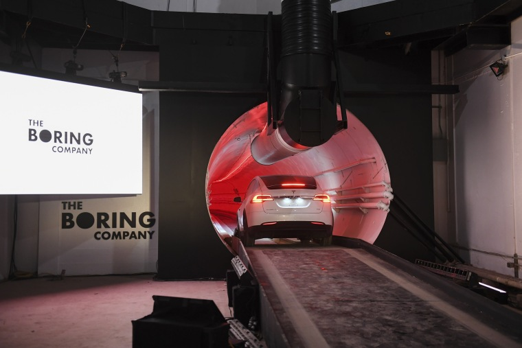 Image: Boring Company Tunnel in Hawthorne, California