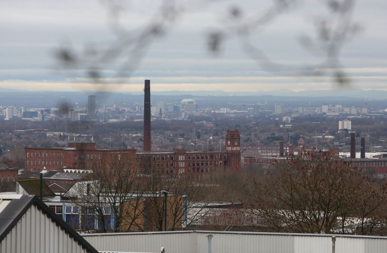 Image: The former Victorian industrial town of Oldham has the worst child deprivation rate in the UK, and has been hard hit by the governments' austerity measures over the past seven years